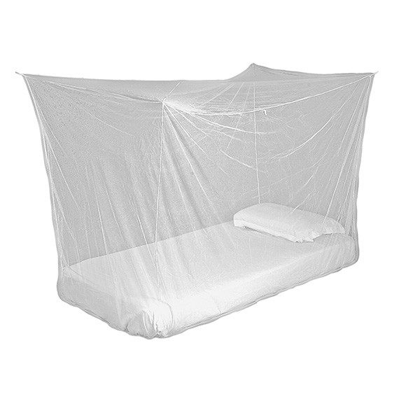 Lifesystems Box Net Single hanging over mattress