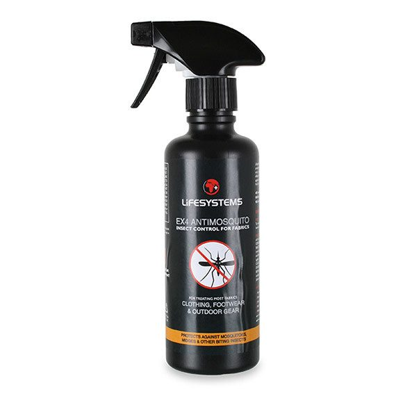 Lifesystems EX4 AntiMosquito For Fabrics Spray Bottle