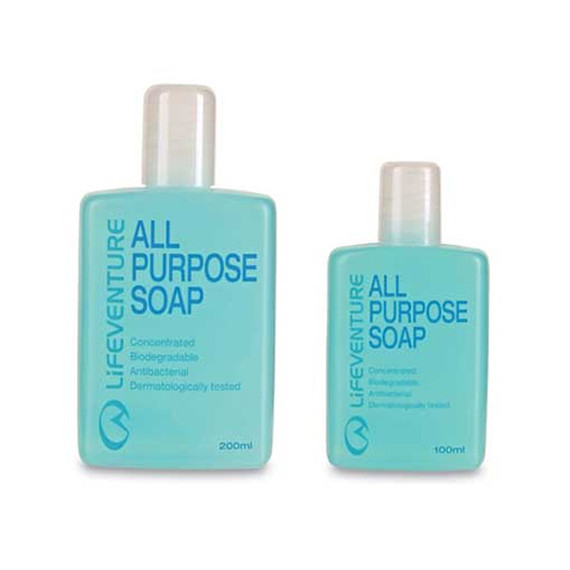 Lifeventure All Purpose Soap Bottle Sizes