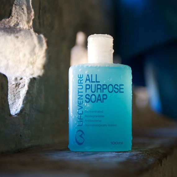 Lifeventure All Purpose Soap in Shower