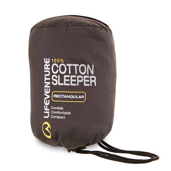 Lifeventure Cotton Sleeper in Pouch