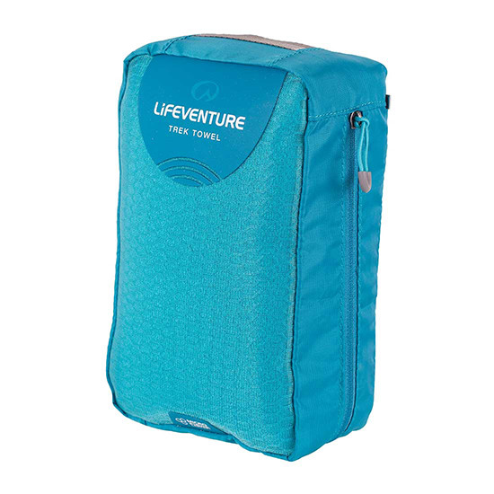 Lifeventure Microfibre Trek Towel in Carry Case