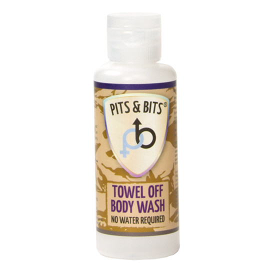 Pits & Bits Towel Off Body Wash