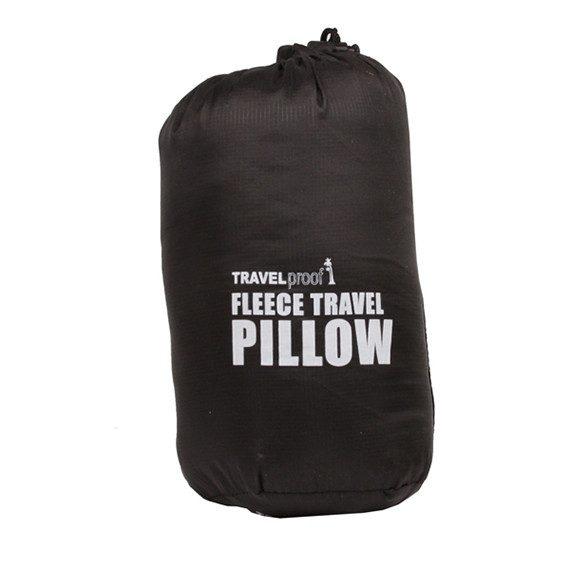 Fleece Travel Pillow in Carry Bag