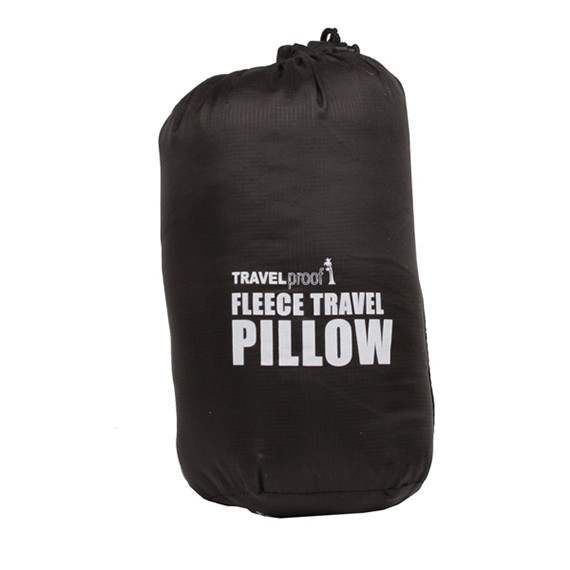 Fleece Travel Pillow in Carry Bag