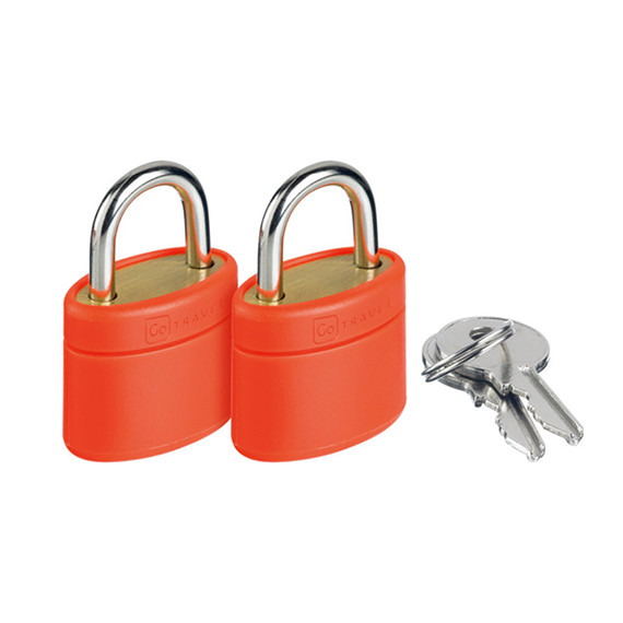 Glo Locks and Keys Orange