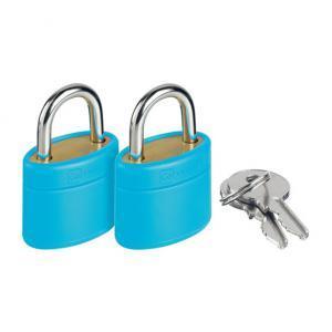 Glo Locks and Keys Blue