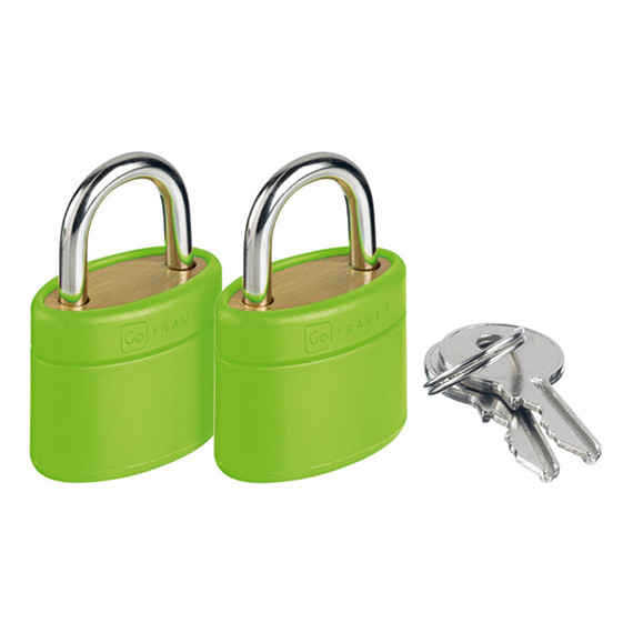 Glo Locks and Keys Green
