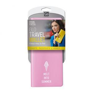 Glo Travel Wallet Pink Packaged