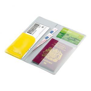 Glo Travel Wallet with Documents Inside