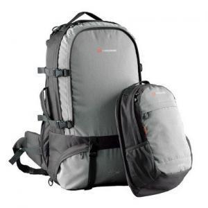 Jet Pack 65 Black Daypack Detached