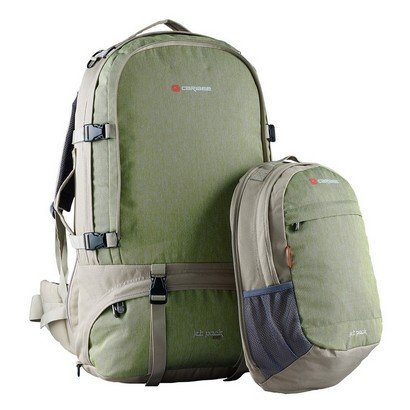 Jet Pack 65 Green Daypack Detached