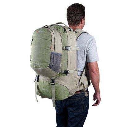 Jet Pack 75 Green on Back