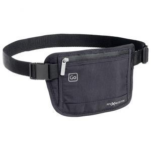 Money Belt RFID Black Waistband