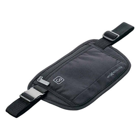 Money Belt RFID Black