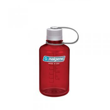 Nalgene Red Narrow Mouth 500ml Bottle