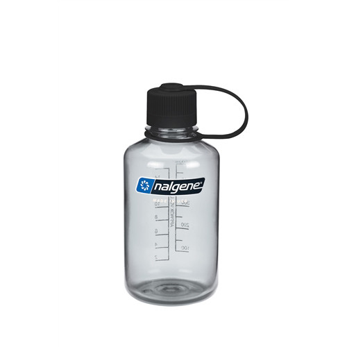 Nalgene Black Narrow Mouth 500ml Bottle