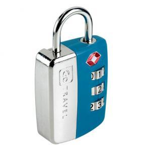 Travel Sentry Lock Blue