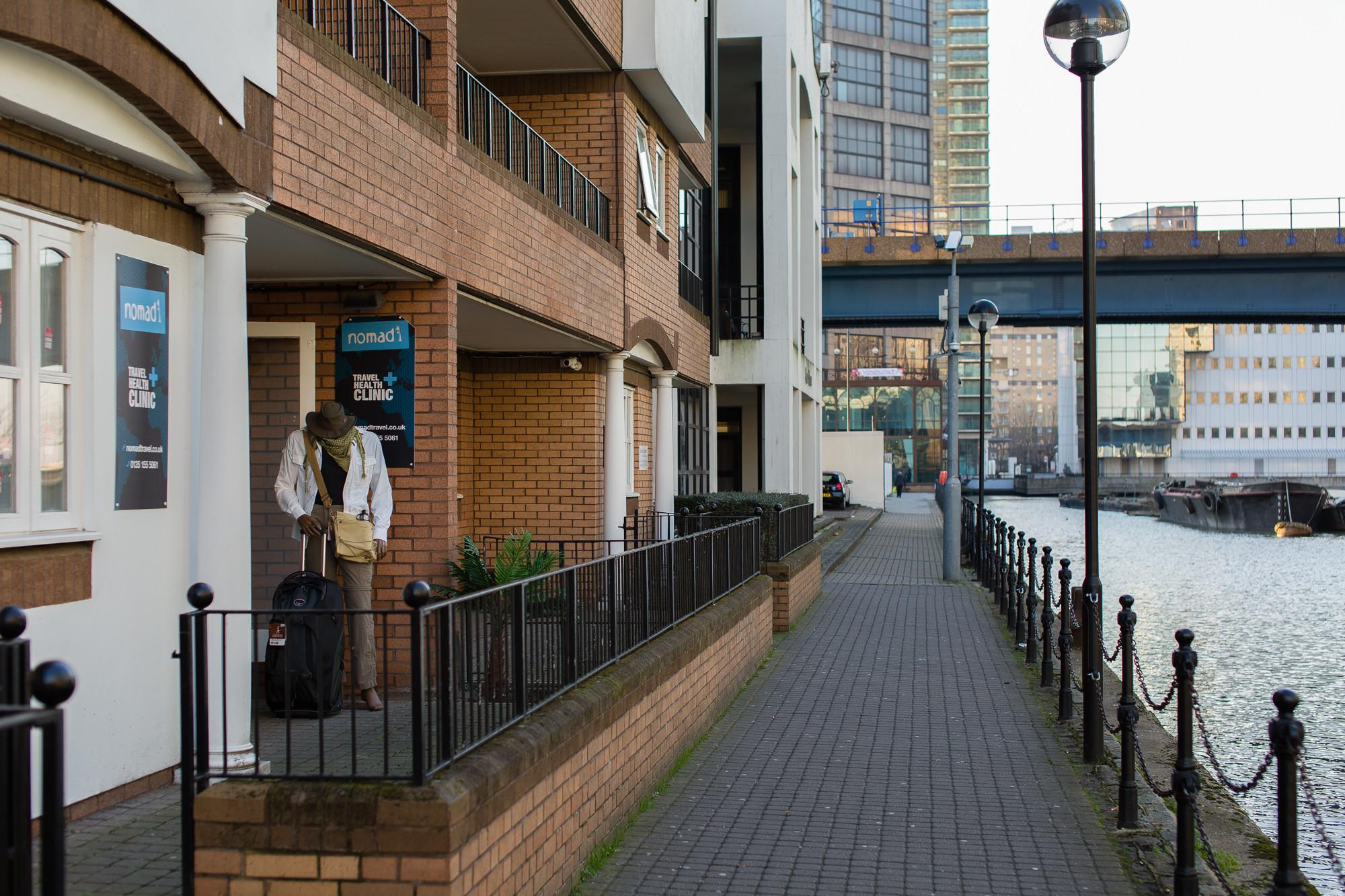 Nomad Canary Wharf Entrance