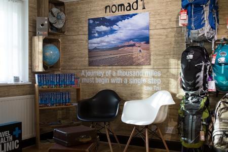 Nomad Canary Wharf Waiting Area