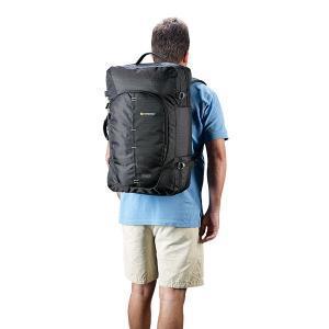 Caribee Skymaster worn as backpack