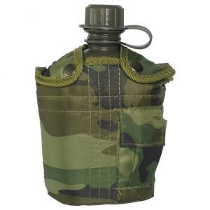 US Army 1 Ltr Bottle with Camo Cover
