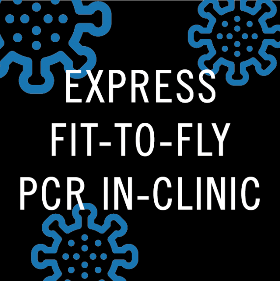 In-clinic express COVID pcr test