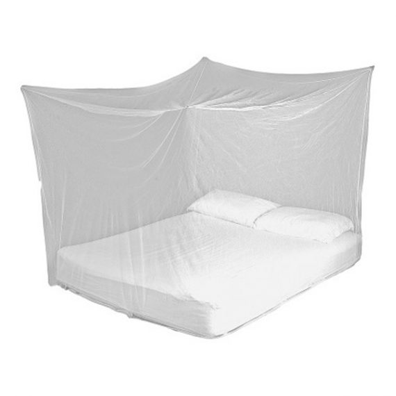 Lifesystems Box Net Double hanging over mattress