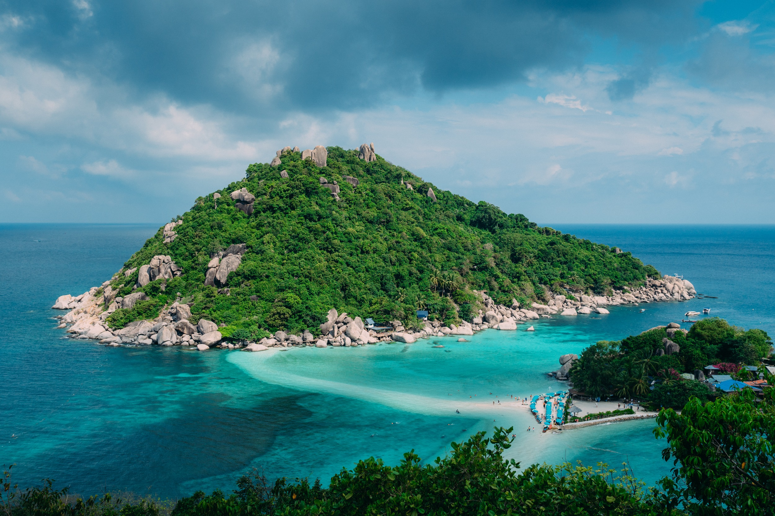 View of Ko Samui island