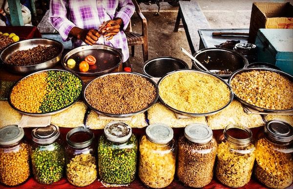 Indian streetfood vendor